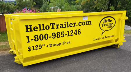 Bin and dumpster rentals Campbell River and Courtenay